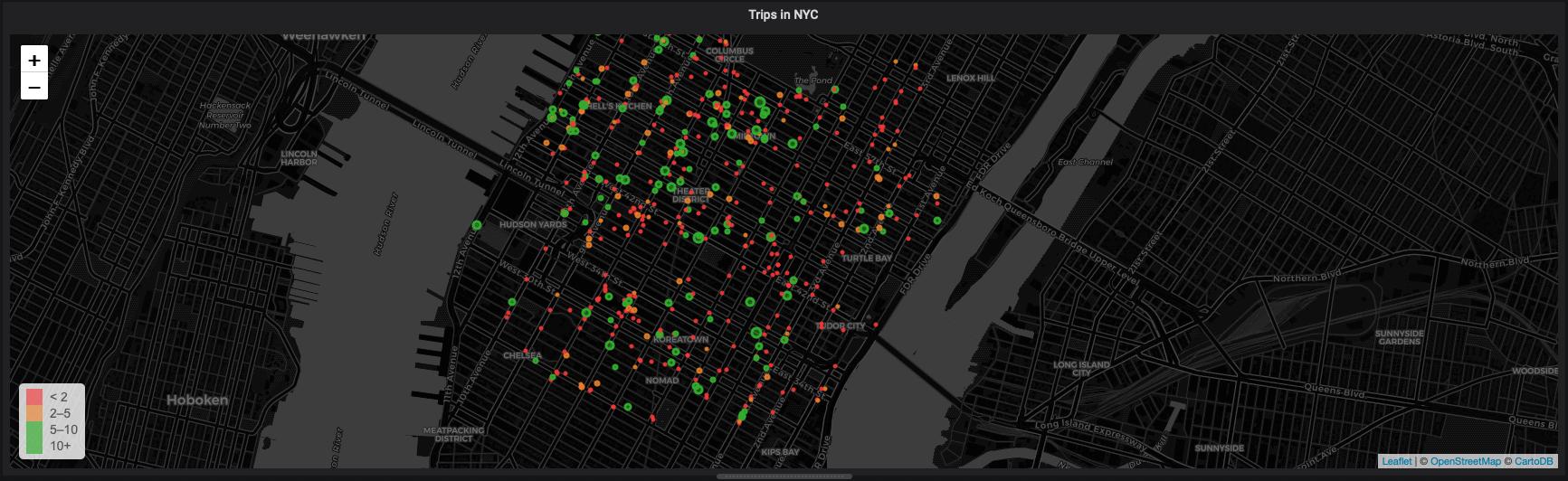 Visualizing time series data in PostgreSQL using the Grafana Worldmap